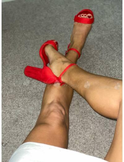 CLOÉ piros cipellő