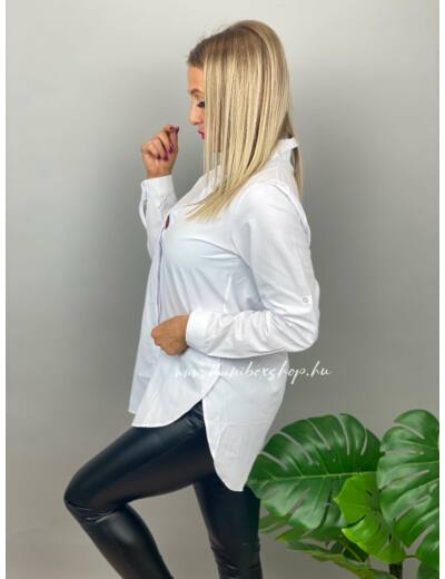 KITTEN fehér ing