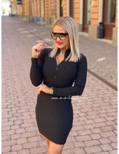 Női bordázott ruha_3