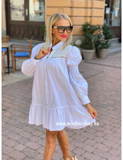 SWISS fehér madeira ruha
