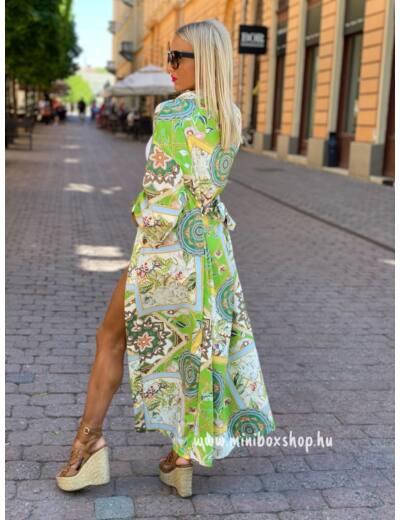 JUNGLE szatén kimono