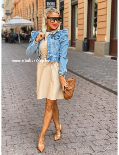HONEY bőrhatású ruha