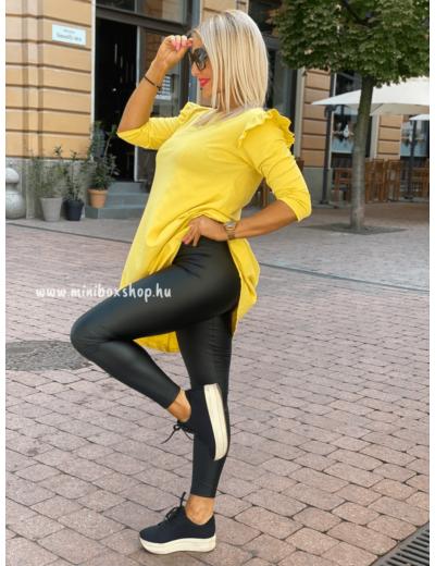 ZEN bőrhatású leggings