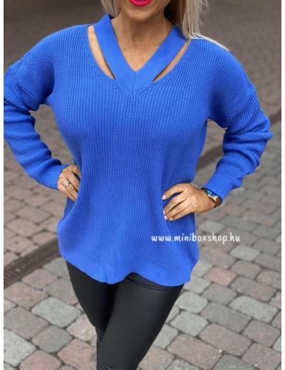 LOVE kötött pulóver