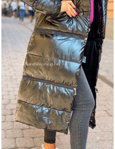 FREJA fényes tűzött kabát - 3in1