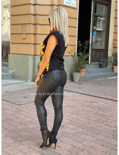 RIA bőrhatású nadrág