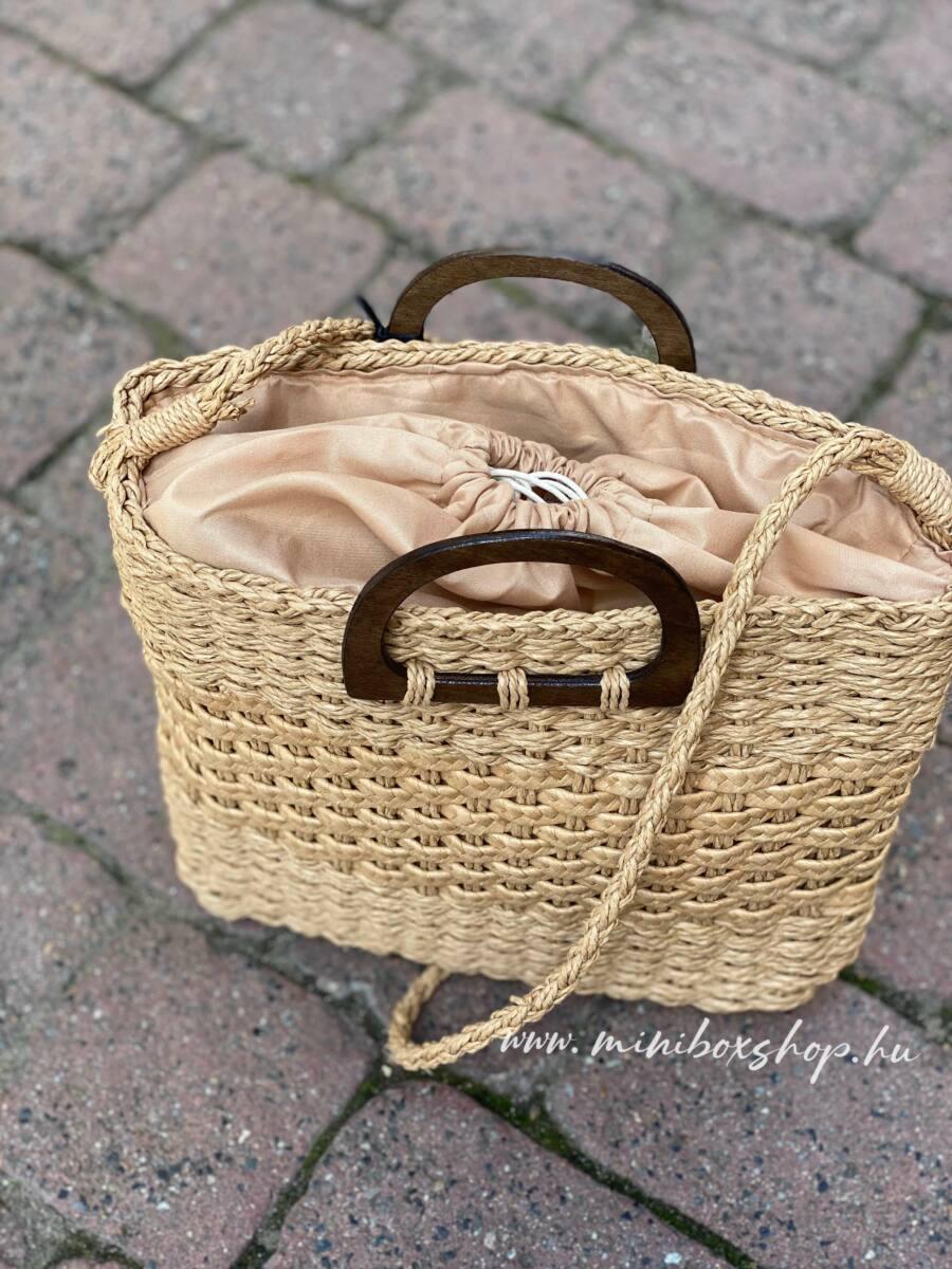 Női fonott nyári táska