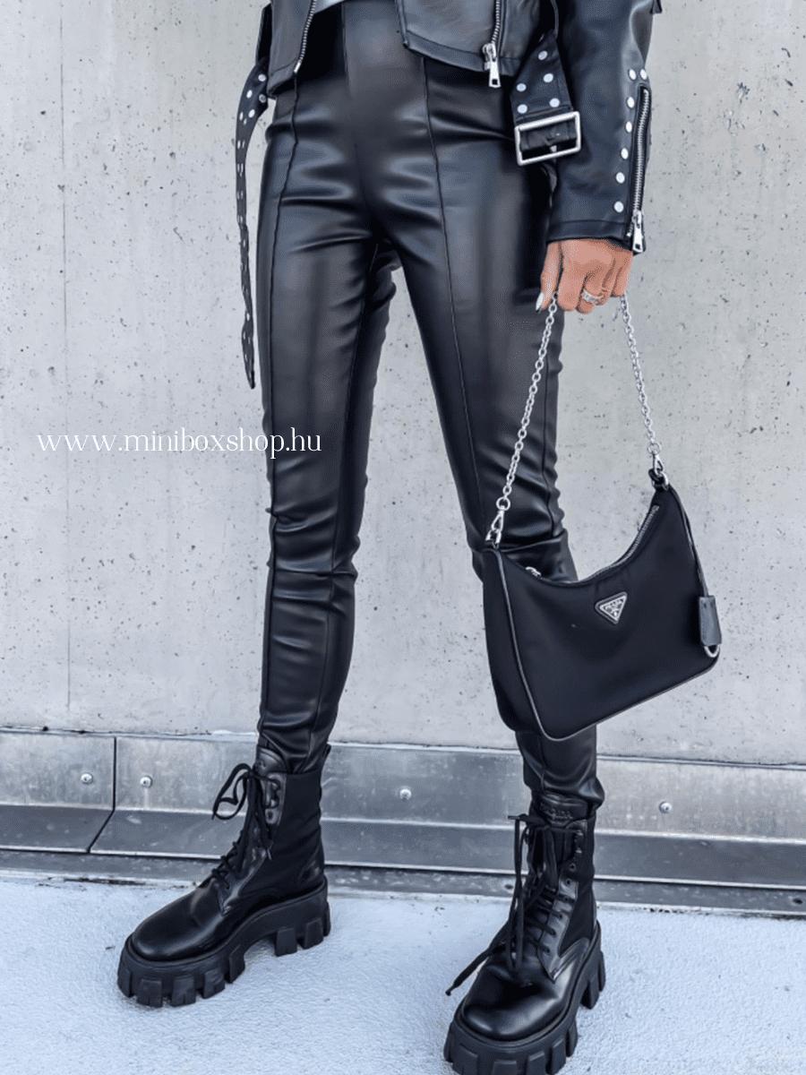 TIANA bőrhatású nadrág
